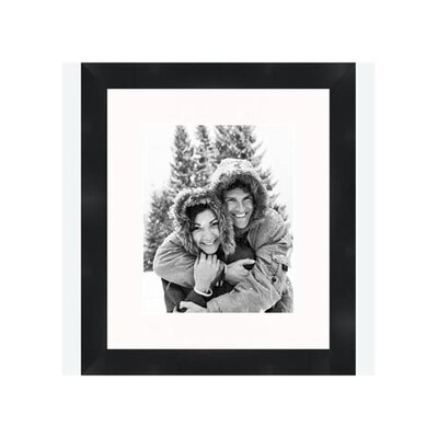 "Frames By Mail 8"" x 10"" Traditional Flat Frame in Black"