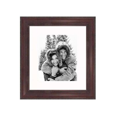 "Frames By Mail 20"" x 24"" Rustic Pitted Frame in Cherry"