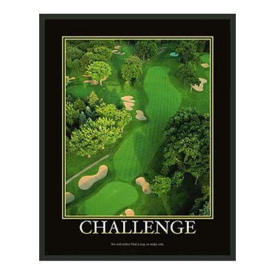 "Frames By Mail Motivational Framed Challenge Print - 14"" x 11"""