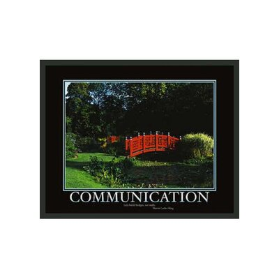 "Frames By Mail Motivational Framed Communication Print - 11"" x 14"""