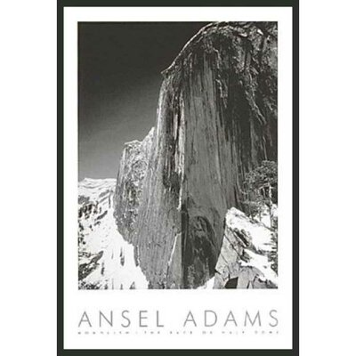 "Frames By Mail Monolith Framed Print by Ansel Adams - 36"" x 24"""