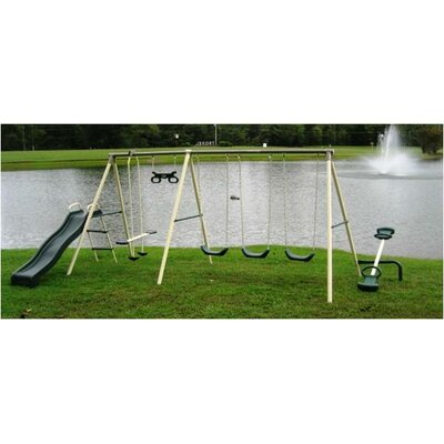 Flexible Flyer Fun Fantastic Swing Set