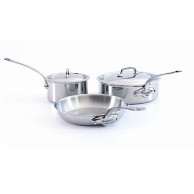 M'Cook 5-Ply Stainless Steel 5 -Piece Cookware Set