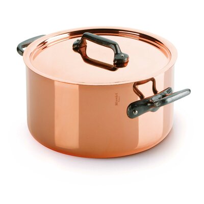 Mauviel M'Heritage M150C Stock Pot with Lid
