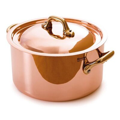 Mauviel M'heritage Cuprinox Soup Pot with Lid