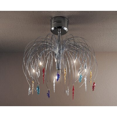 FDV Collection Vincent Lo Arcade 7 Light Chandelier