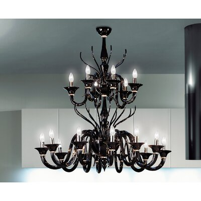FDV Collection Belzebu 18 Light Chandelier