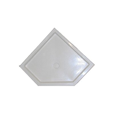 American Acrylic Neo Angle Shower Base