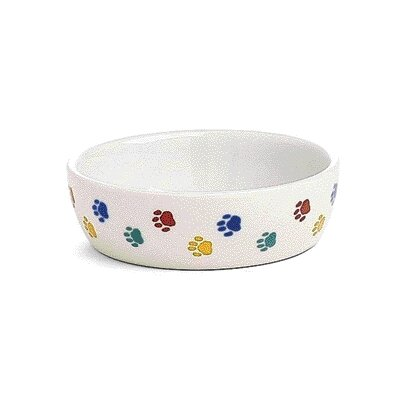 Ethical Pet Cat Paw Print  Dish