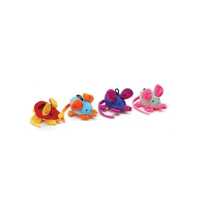 Rattle Clatter Mouse Cat Toy