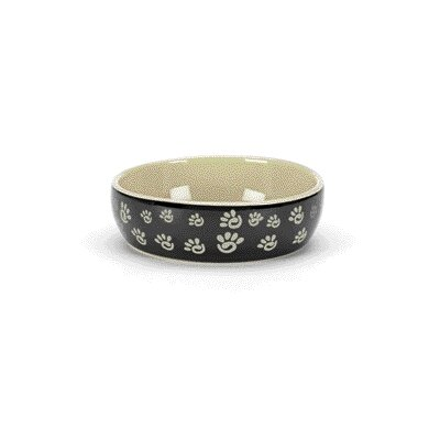 Ethical Pet Designer Paw Print Cat Dish