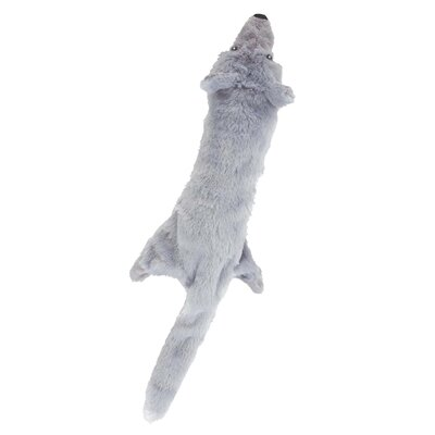 Ethical Pet Skinneeez Big Bite Wolf Dog Toy
