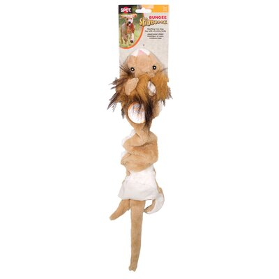 Ethical Pet Bungee Skinneeez Lion Dog Toy
