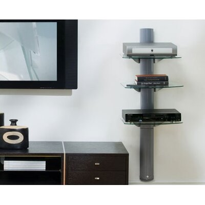 OmniMount 3-Shelf Wall System with Cable Management