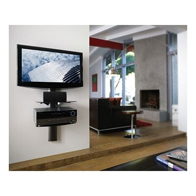 OmniMount TRIA Wall System with Cable Management (1 or 2 Shelves)
