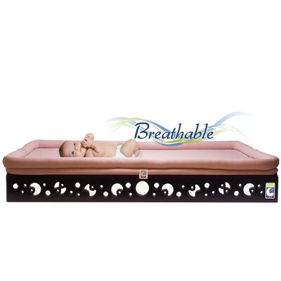 Contemporary Curves Crib Mattress Base with Sleep Surface