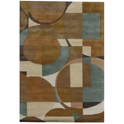 Acura Rugs Ashley Circle Multi Rug