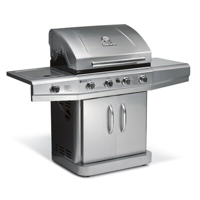 Char-Broil Classic Gas Grill with 4 Burners and Side Burner