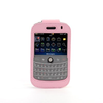 Gut Cases Blackberry Bold Classic Leather Sleeve in Pink