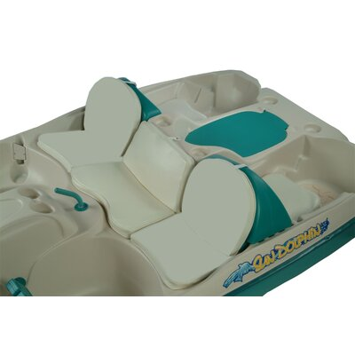 KL Industries Seat Cushion Set for Sun Slider Pedal Boat (Set of four. Center cushion not available.)