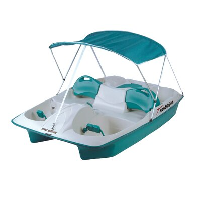 Deluxe Canopy for Pedal Boats in Teal