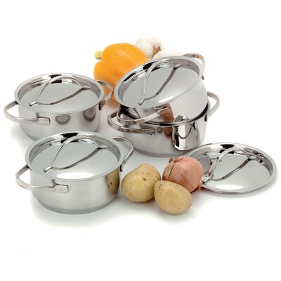 Demeyere Resto 0.58-qt. Pot Set with Lids