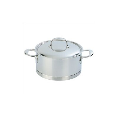 Demeyere Atlantis 3.2-qt. Stainless Steel Round Dutch Oven