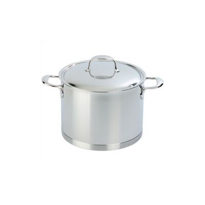 Demeyere Atlantis 5.3-qt. Stock Pot with Lid