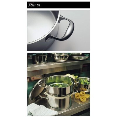 Demeyere Atlantis 3.2-Quart Stackable Steamer