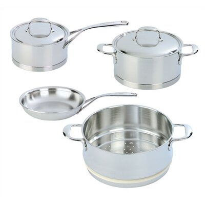 Demeyere Atlantis 7-Ply Stainless Steel 6-Piece Cookware Set