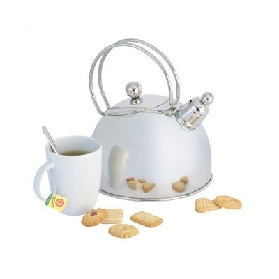 Demeyere Resto 2.6-qt. Whistling Tea Kettle