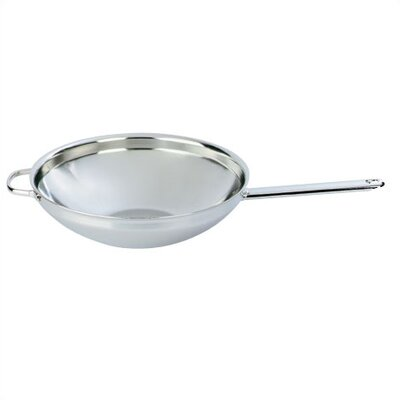 Demeyere 5.8-Quart Stirfry / Wok with Helper Handle