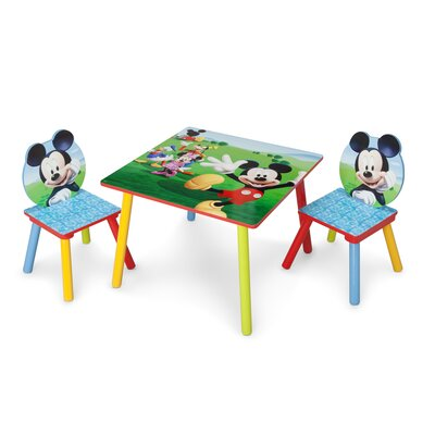 Delta children mickey mouse table and chair set reviews wayfair - Set table et chaises ...