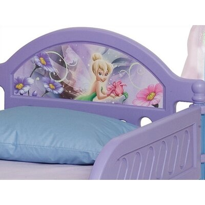 Delta Children Disney Fairies Toddler Bed with Canopy
