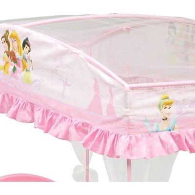 ... Children Disney Princess Toddler Bed with Canopy & Reviews  Wayfair