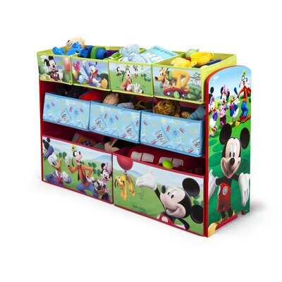 Delta Children Disney Mickey Mouse Toy Organizer