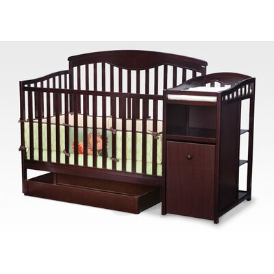 Delta Children's Products Shelby Crib and Changer in Espresso