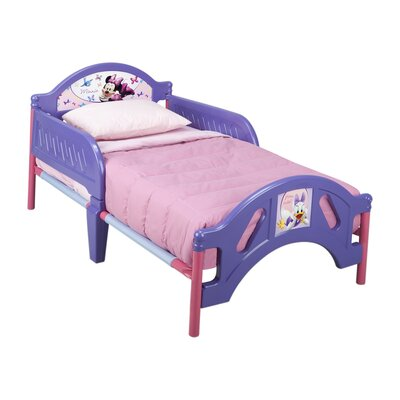 Delta Children Disney Minnie Mouse Convertible Toddler Bed