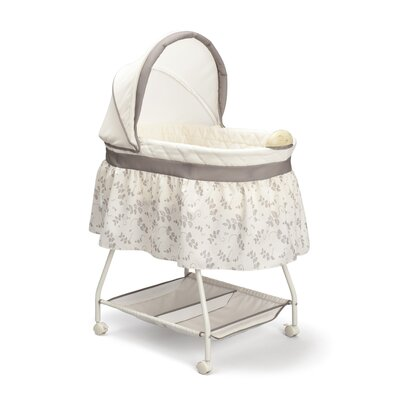 Delta Children Sweet Beginnings Falling Leaves Bassinet