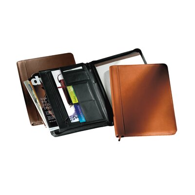 Andrew Philips Zip-Around Writing Pad Holder / Portfolio
