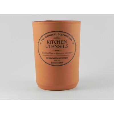 Henry Watson Original Suffolk Terracotta Utensil Jar