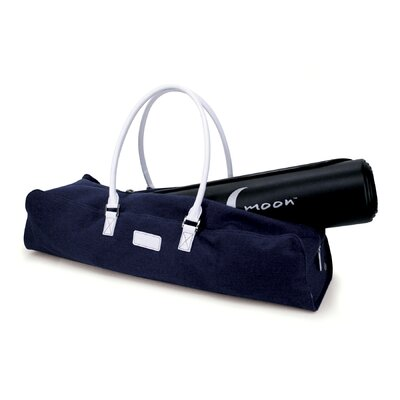 Crescent Moon Metro Yoga Bag in Navy / White