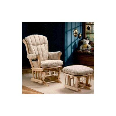 Dutailier 978 Maple Comfort Plus Sleigh Glider