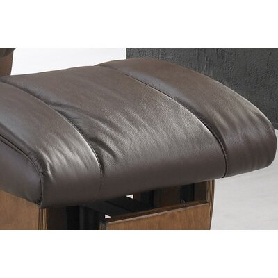 Dutailier 216 Melbourne Glider with Closed Base and Ottoman