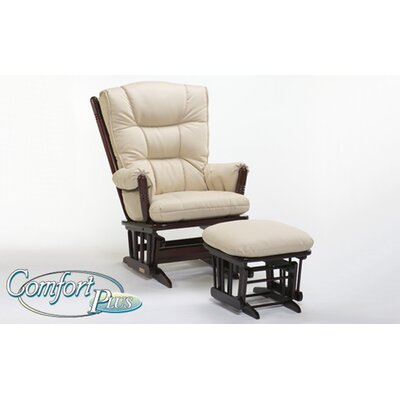 Dutailier 916 Maple Comfort Plus Two Post Grand Glider