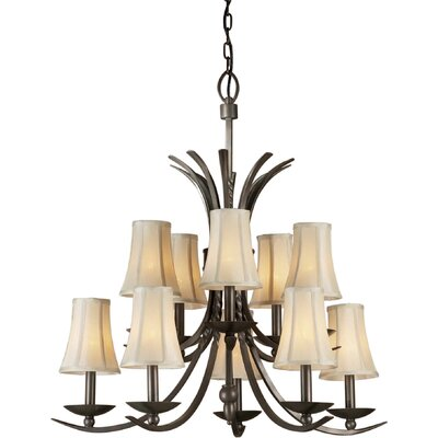 Forte Lighting 10 Light Chandelier