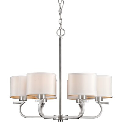 Forte Lighting 6 Light Chandelier