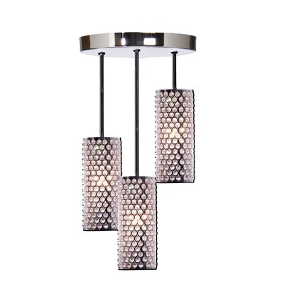 Artcraft Lighting Concentrix 3 Light Pendant