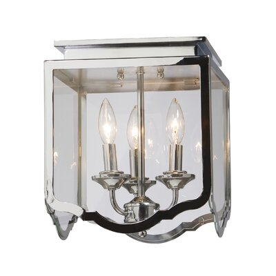 Artcraft Lighting Cambridge 3 Light Semi Flush Mount