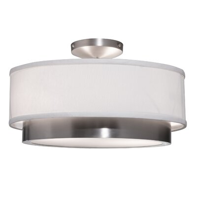 Artcraft Lighting Scandia 2 Light Semi Flush Mount